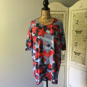 LuLaRoe Irma Tunic Top Plus Sz L NWT